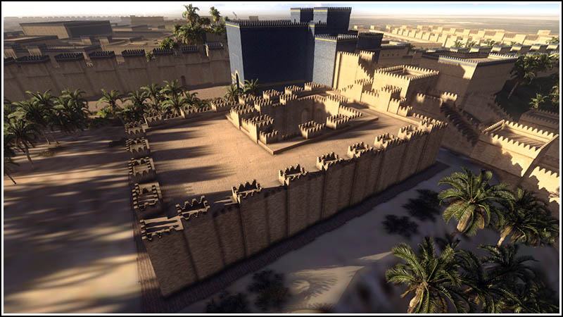 images hanging gardens of babylon