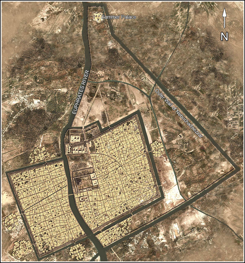 city of babylon map - photo #24