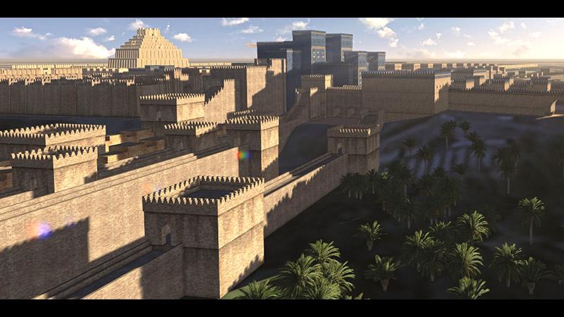 City WallsBabylon City Walls